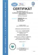 certifikat kvality 2018